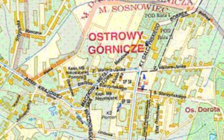 Mapa 11. Bobrek: Od ulicy Bobrek do ulicy Armii Krajowej.