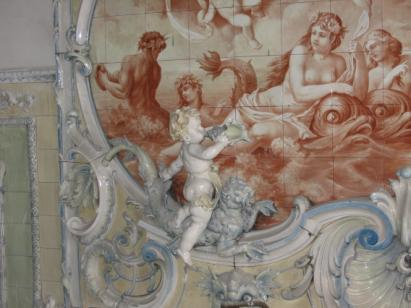 Zdjęcie 15. Pałac Dietla. Fragment łazienki.