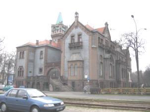 Zdjęcie 16. Czarna Przemsza. Sąd. Dawny Pałac Schoena.