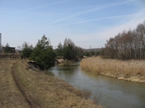 Zdjęcie 40. Biała Przemsza. Około 1 km za Maczkami.