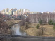 Zdjęcie 46. Przemsza. Widok z DSR na Mysłowice.